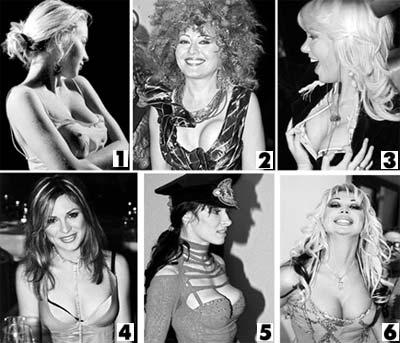 Порно фото силиконовых увеличенных женских жоп фото